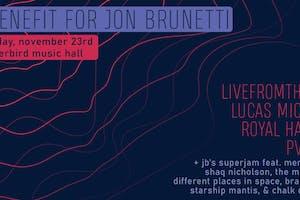 A Fundraiser for Jon Brunetti