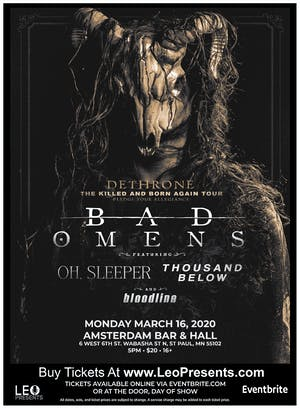 Bad Omens - The Killed And Born Again Tour