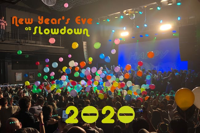 New Year's Eve at Slowdown