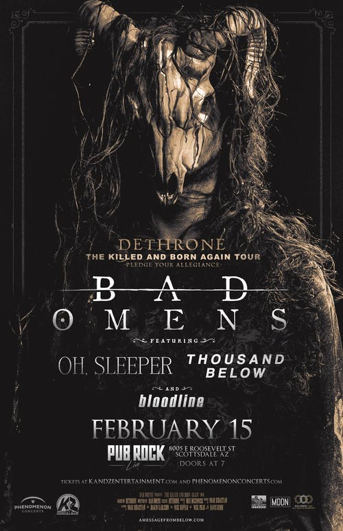 Bad Omens - The Kiled and Born Again Tour