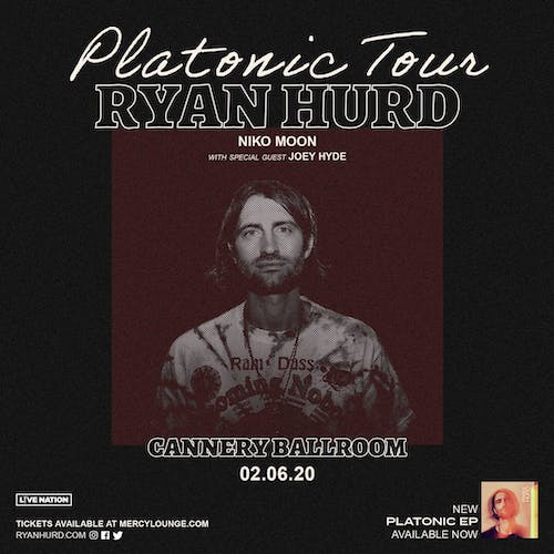 Ryan Hurd - Platonic Tour 2020