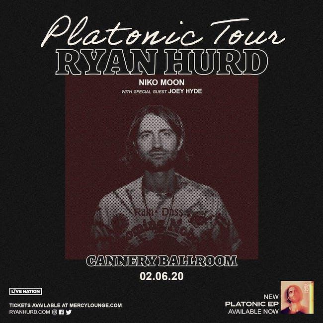 Ryan Hurd - Platonic Tour 2020