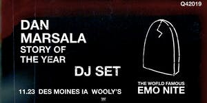 Emo Nite with Special Guest DJ Dan Marsala of Story Of The Year