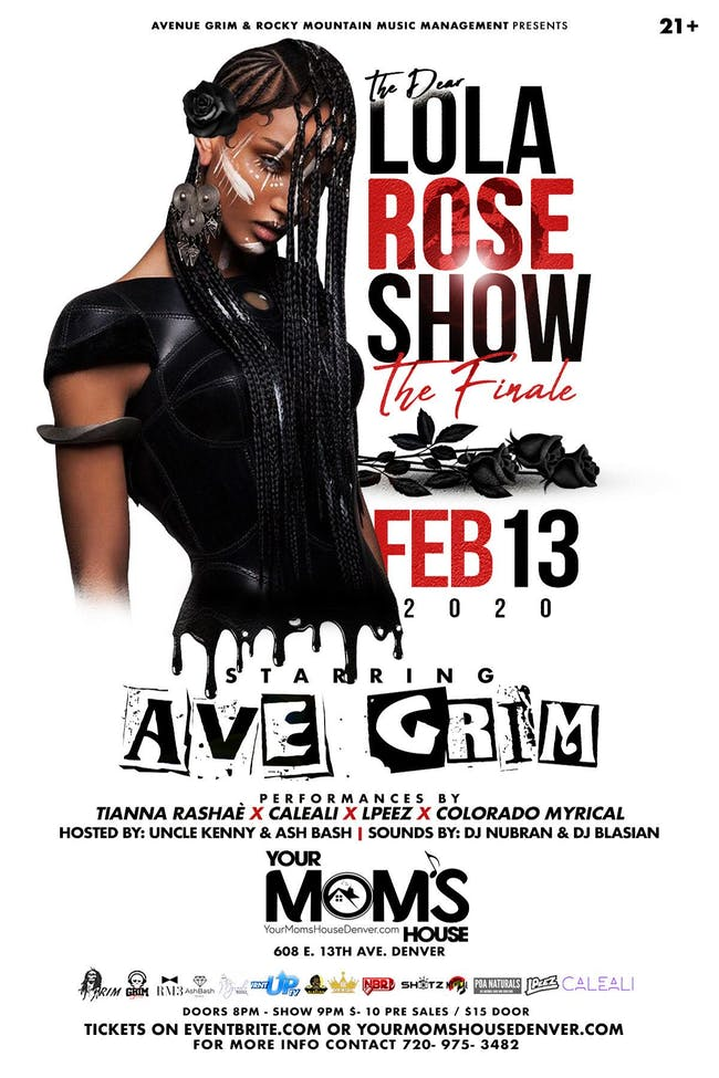 The Dear Lola Rose Show : THE FINALE ft. Ave Grim // Tianna Rashae // More!