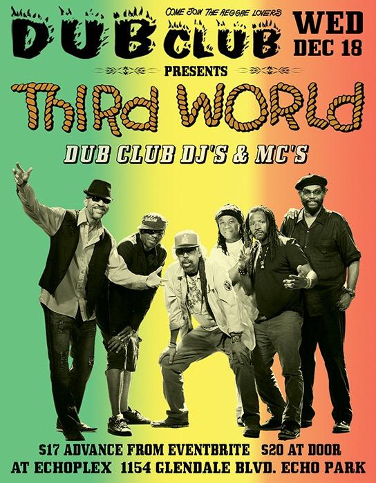 Dub Club presents Third World