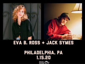 Eva B. Ross & Jack Symes w/ Nick Cianci