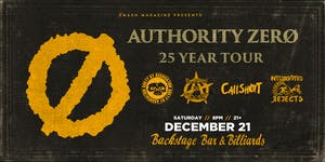 Authority Zero ~ 25 Year Tour