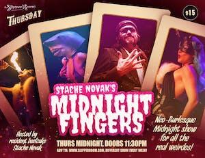 Stache Novak's Midnight Fingers