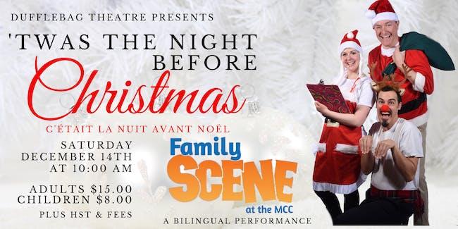 Family Scene - Dufflebag Theatre presents 'Twas th