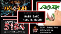 Hair Band Tribute Night