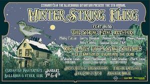 5th Annual Winter String Fling (SATURDAY)