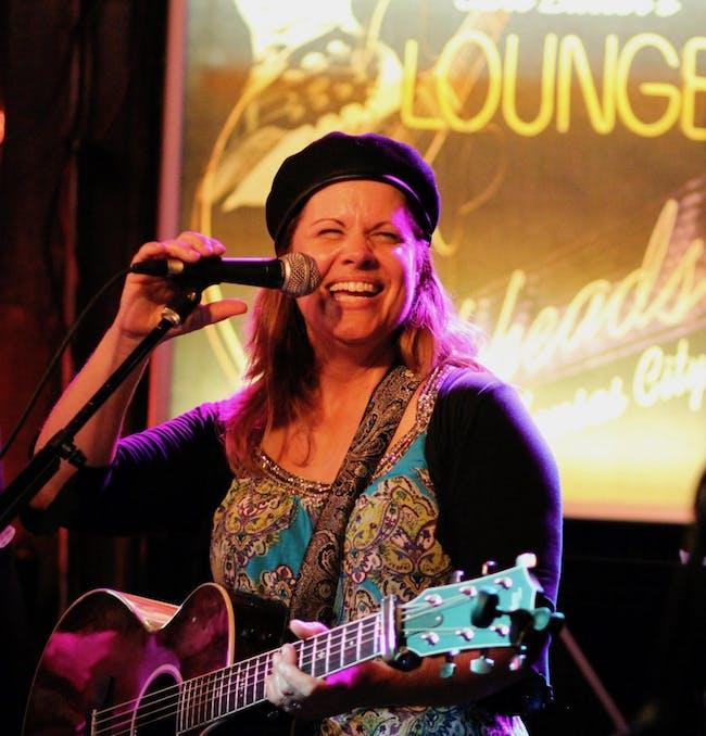 Joy Zimmerman in the Gospel Lounge