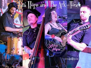 GO KAT GO! Birthday Show with Lara Hope & The Ark-Tones, Televisionaries