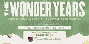 THE WONDER YEARS with Free Throw + Spanish Love Songs