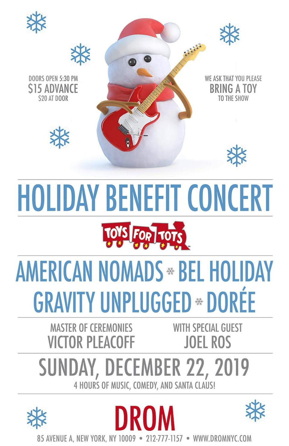 American Nomads Holiday Concert