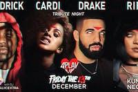 Kenny, Cardi, Drake, Riri ~ 4PLAY (Friday the 13th)