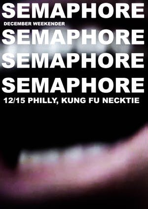Nowhere / Semaphore / At Best / Needless Ghost