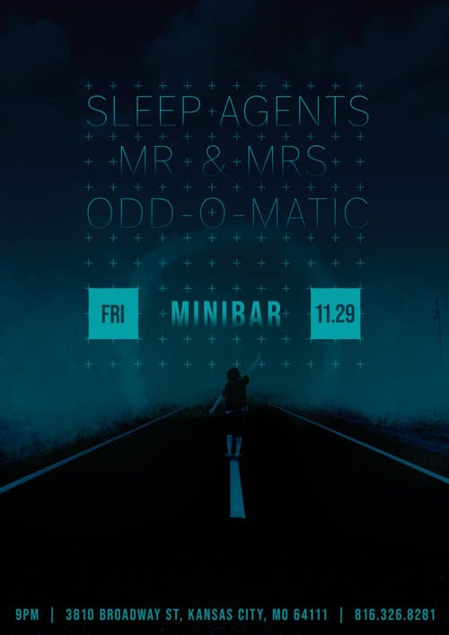 SLEEP AGENTS /  MR  &  MRS / ODD-O-MATIC