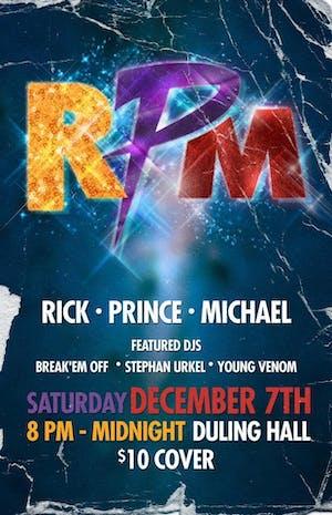 The RPM Party - Rick James, Prince, Michael Jackson