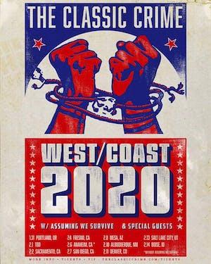 THE CLASSIC CRIME WEST COAST 2020 TOUR!