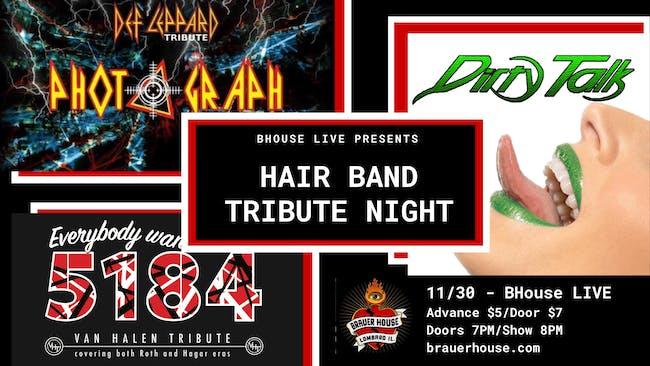 Hair Band Tribute Night