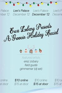 Erez Zobary Presents: A Groovin' Holiday Special