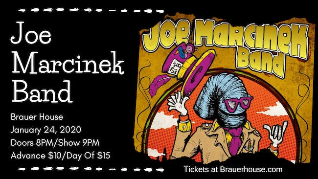 Joe Marcinek Band at Brauer House