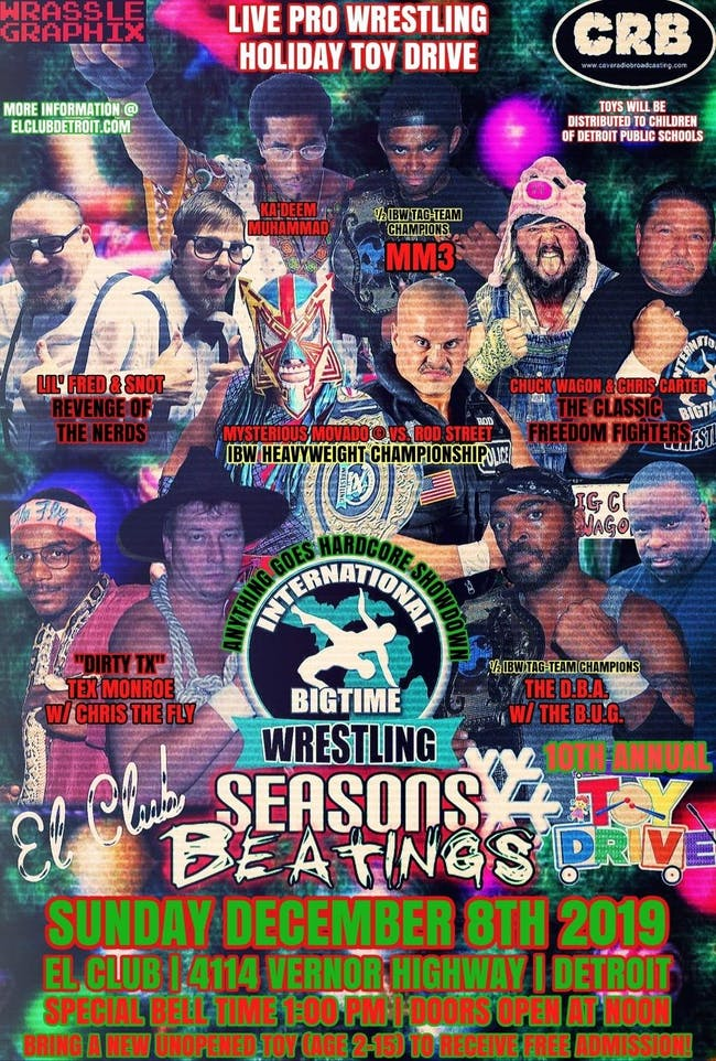 INTERNATIONAL BIG TIME WRESTLING PRESENTS SEASONS BEATINGS