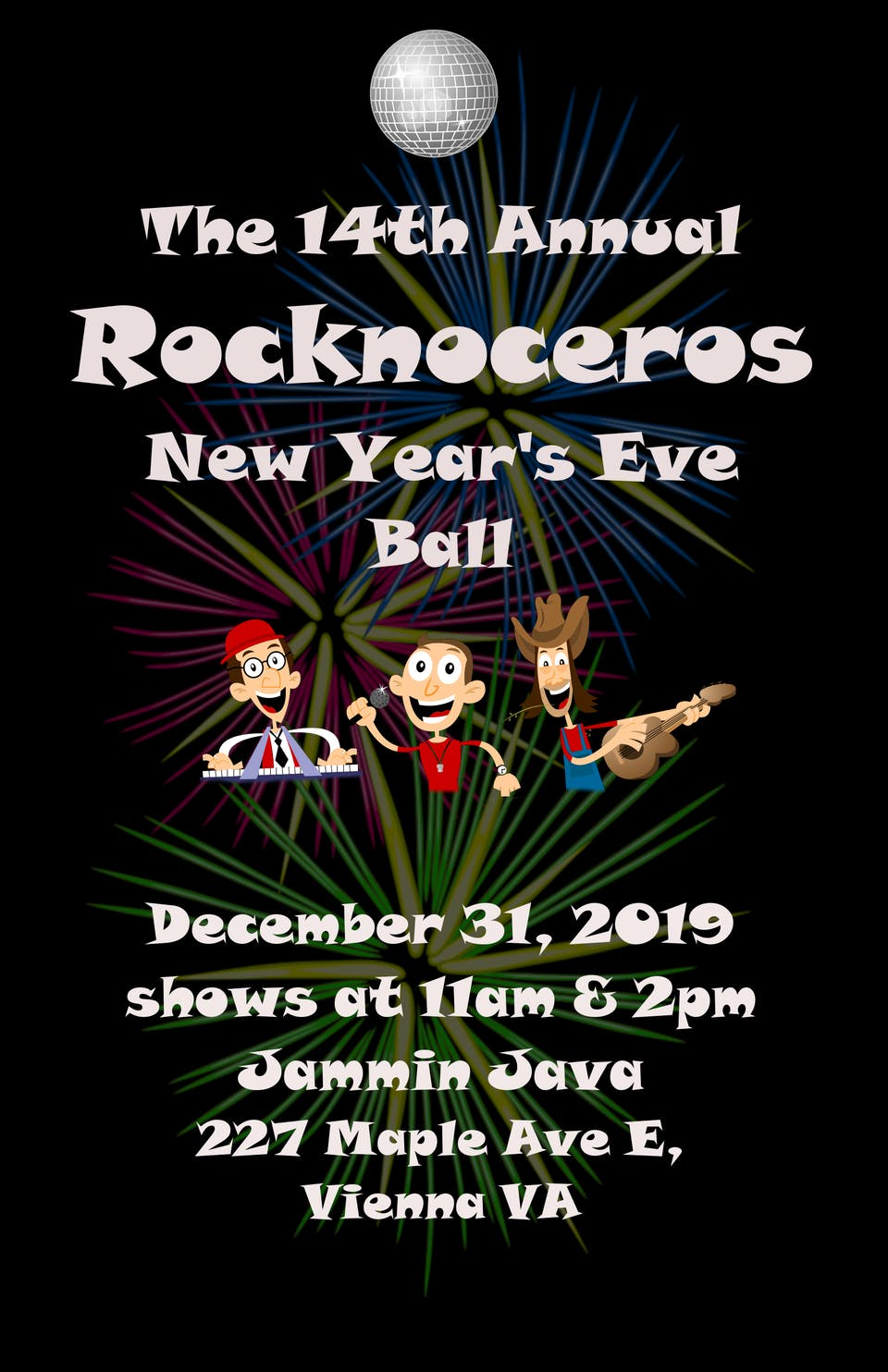 13th Annual Rocknoceros New Years Eve Party #2