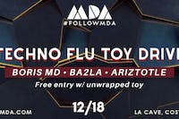 MDA Wednesdays Techno Flu Toy Drive
