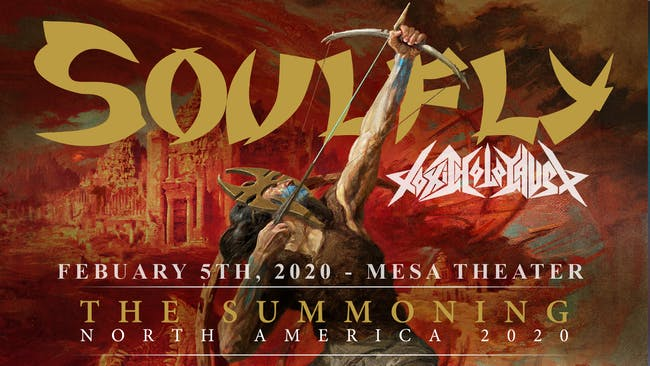 Soulfly w/ Toxic Holocaust