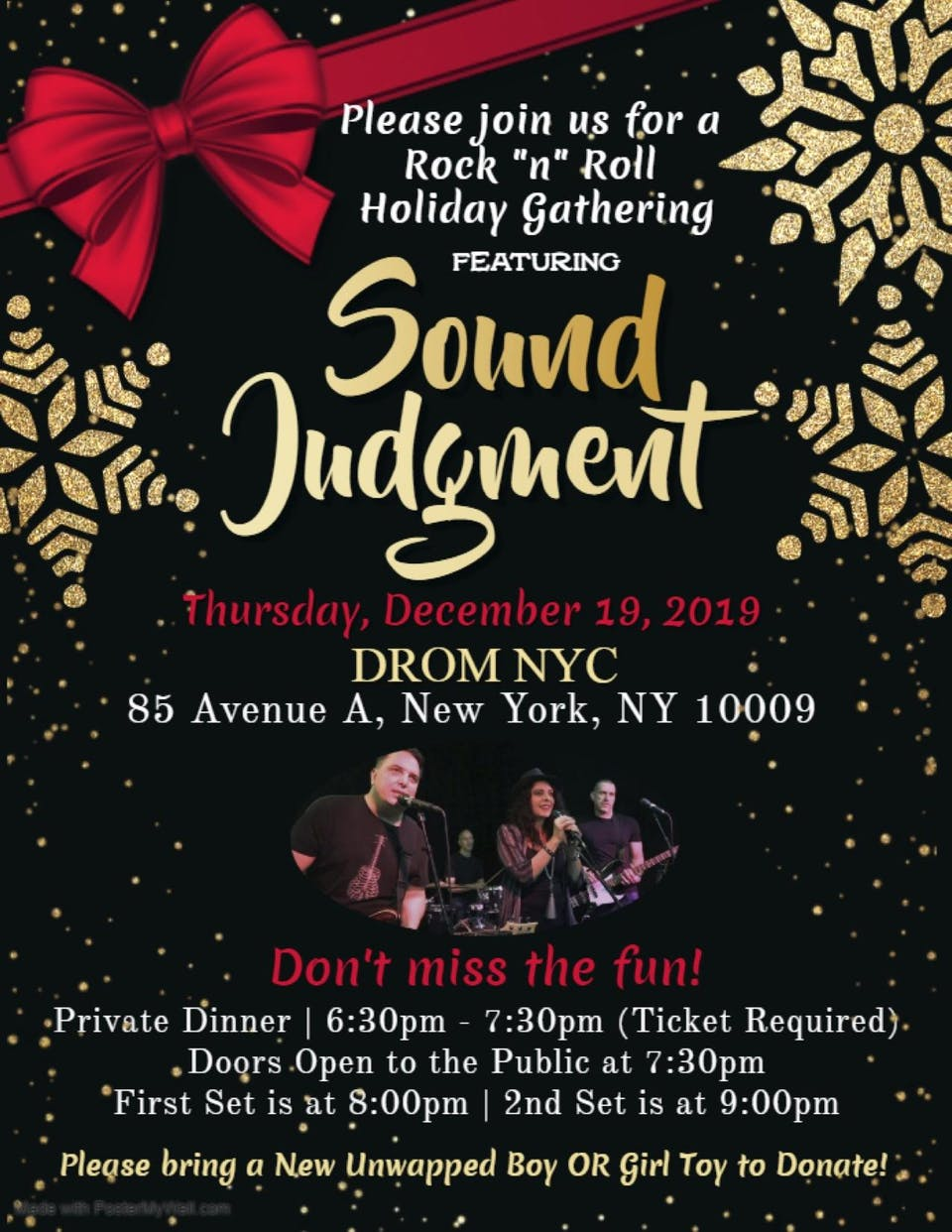 Sound Judgment Holiday Party
