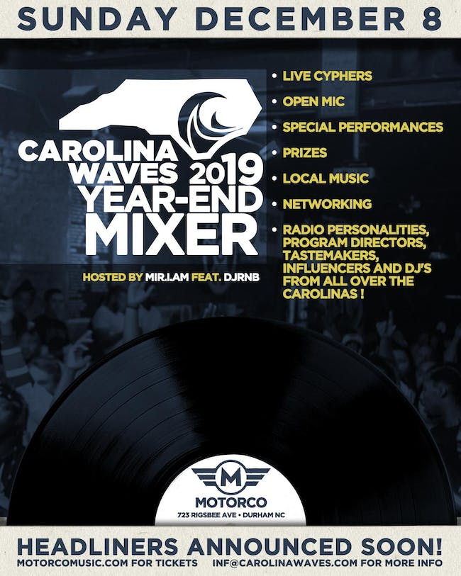 Carolina Waves 2019 Year-End Mixer