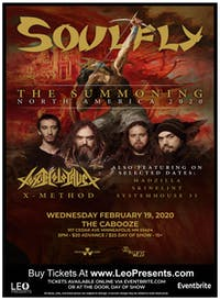 Soulfly - The Summoning North America 2020