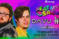 DMVU & TVBOO PRESENT: EAT MY SASS TOUR  Support by: SPACE WIZARD