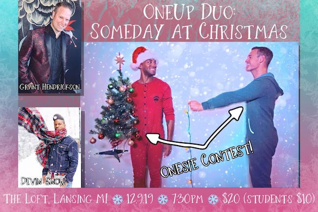 Second Annual Christmas Spectacular featuring OneUp Duo