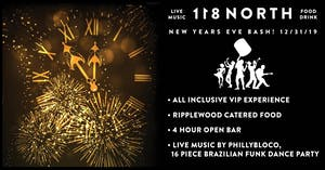 118 North NYE Bash w/ PhillyBloco (16-piece Brazilian/Funk Dance Party)