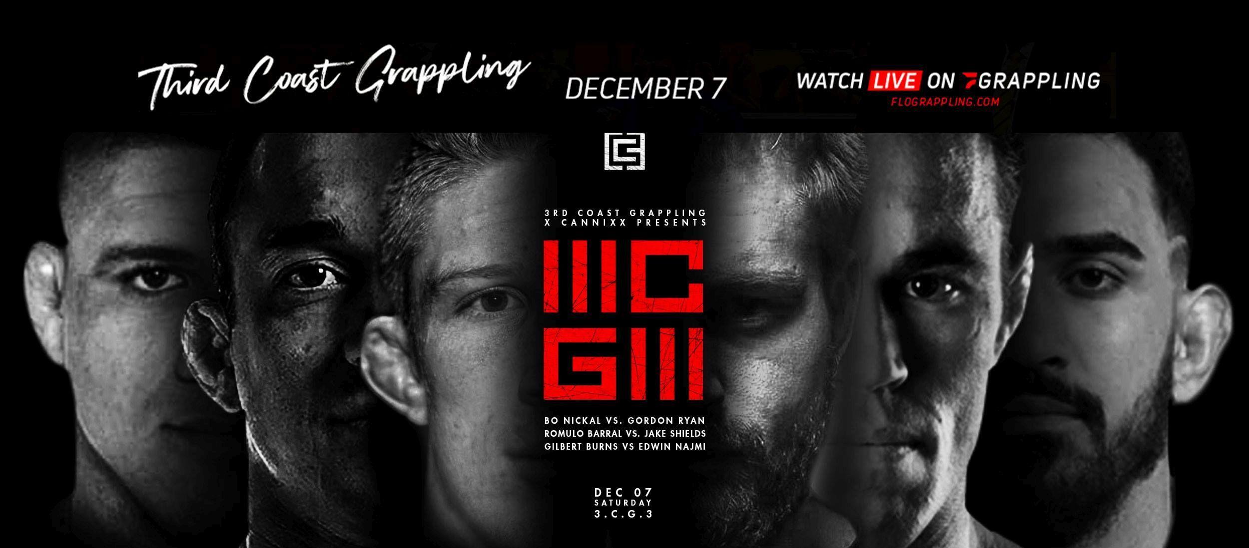 Third Coast Grappling Presents: 3CG3 Ryan vs Nickal
