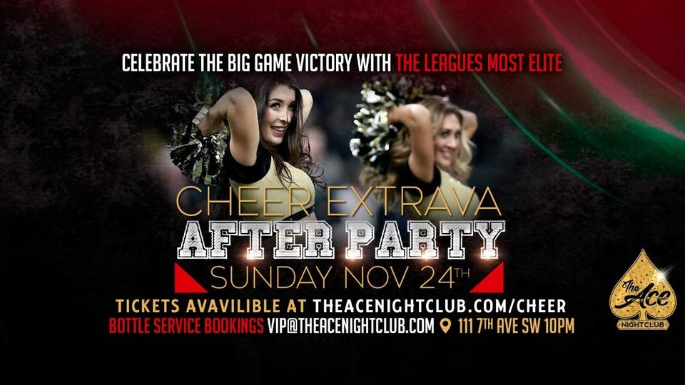 Cheer Extrava After Party