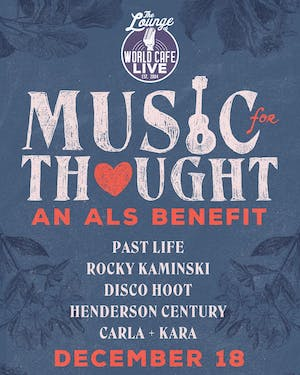 Music For Thought: An ALS Benefit