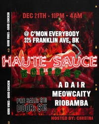 Haute Sauce Holiday