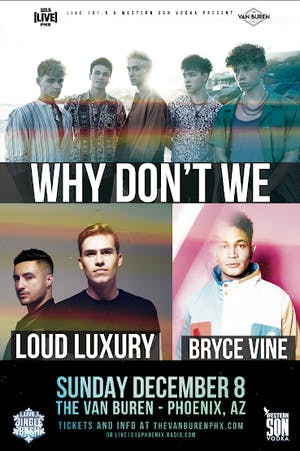 LIVE 101.5'S JINGLE BASH  WITH WHY DON'T WE, LOUD LUXURY & BRYCE VINE