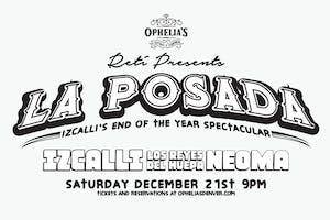 La Posada, hosted by Izcalli