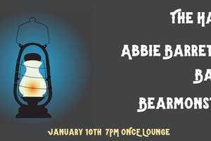 The Hats, Abbie Barrett Band, Bearmonster