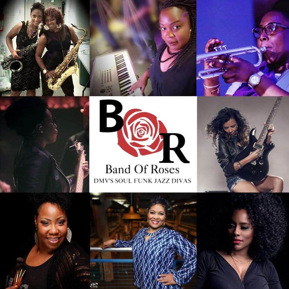 She Rocks the 90's: A Tribute to Female Hip Hop and R&B feat. Band of Roses