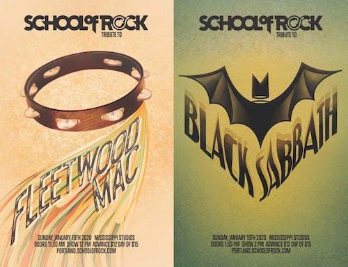 School of Rock Showcase: Fleetwood Mac & Black Sabbath