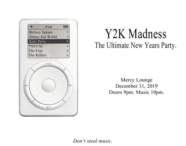 Y2K Madness: The Ultimate New Years Party