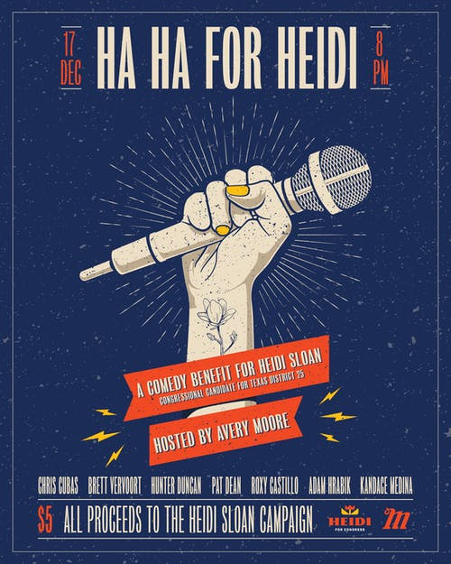 Ha Ha for Heidi: A Comedy Benefit for Heidi Sloan @ Mohawk (Indoor)
