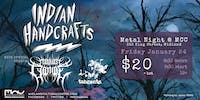 Metal Night at MCC: Indian Handcrafts, Mount Cyanide, and Tangents