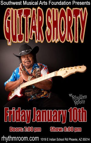 Blues Legend! GUITAR SHORTY